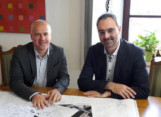 Alexander Leitz betreut Einzelprojekte der Wirtschaftsförderung in Riedlingen