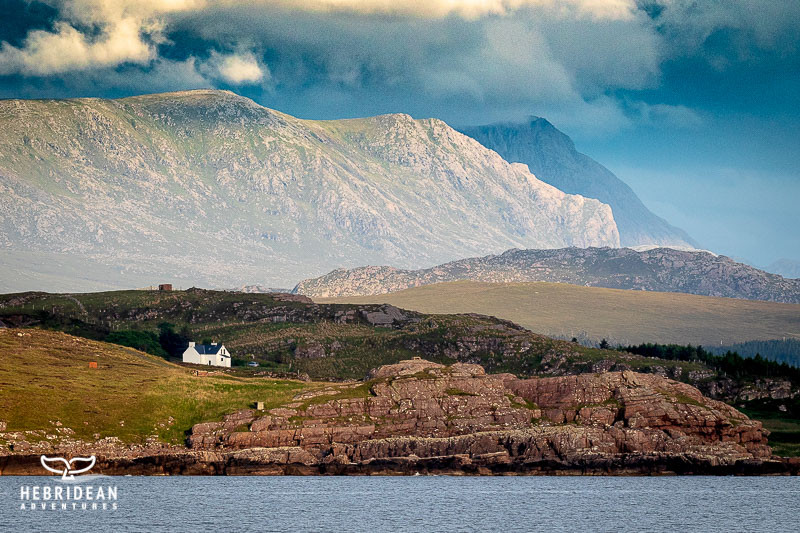 Loch Ewe and mountains