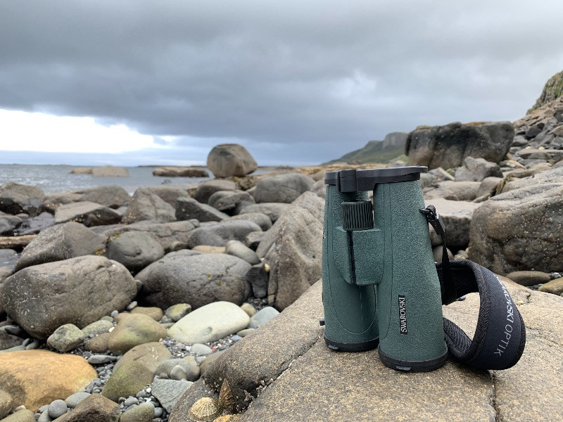 Swarovski SLC binoculars on the Isle of Skye