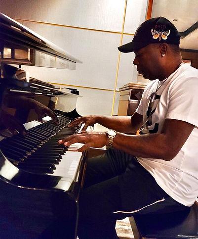 DJ Fury Playing Grand Piano