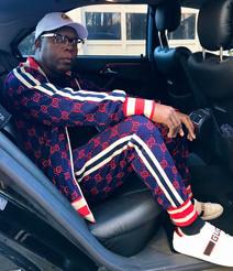 DJ Fury in Gucci Sweatsuit