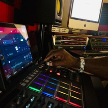 DJ Fury with his MPC-X