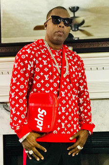DJ Fury in Louis Vuitton