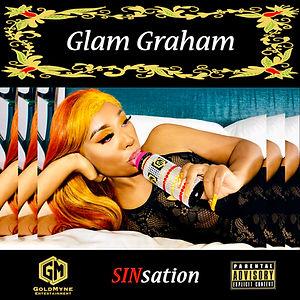 Glam Graham - Sinsation - Album Cover