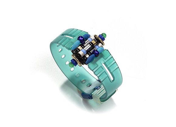 Pulseira Azul Fosca