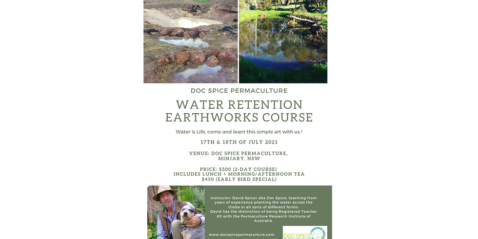 2- Day Water Retention Earthworks Course
