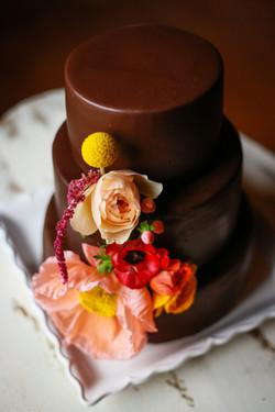 The Macaron Cake