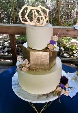 Golden Peach Cake