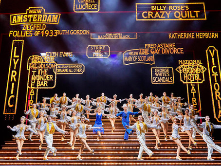 42nd STREET (Screening) Odeon Dunfermline Nov 12th 2019