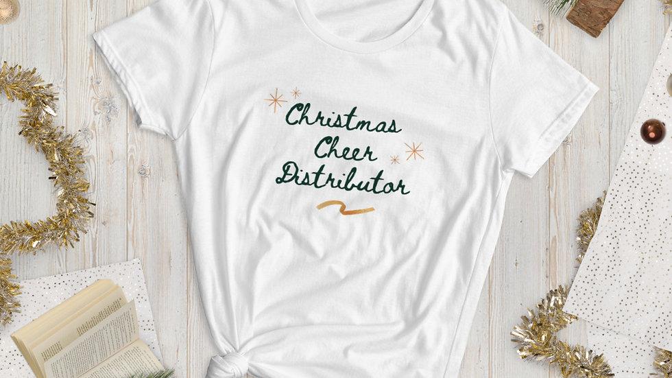 Christmas Cheer Distributor Women's short sleeve t-shirt
