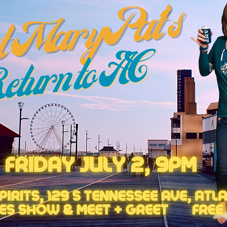 Aunt Mary Pat's Return to 'Lannic Siddy!