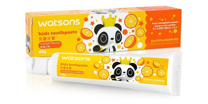 兒童牙膏 橙味