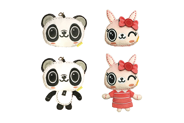 2017 Panda/Pucci 百達通咭套
