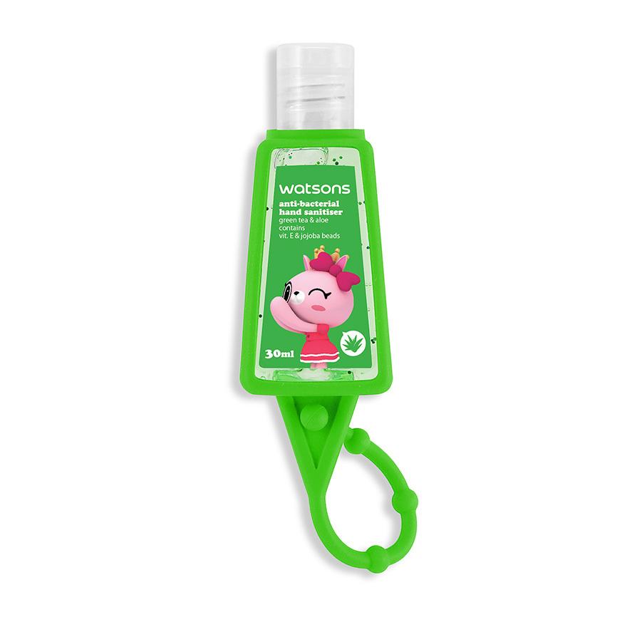 綠茶蘆薈消毒搓手液30毫升