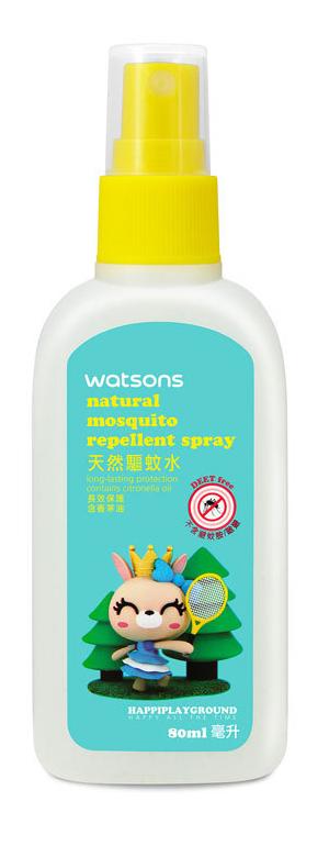 天然驅蚊水