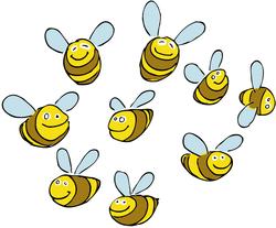 kleine Bienen