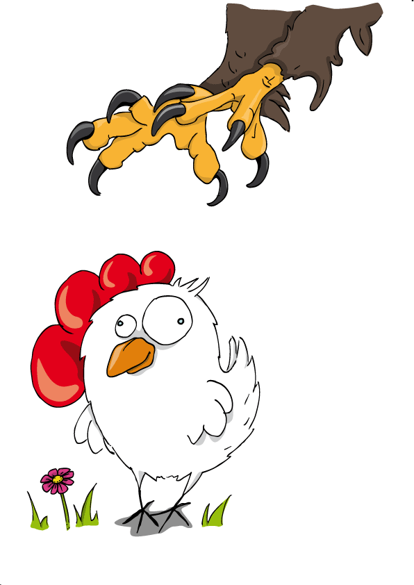 natürliche Feinde der Hühner