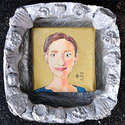 Portrait als Ikone