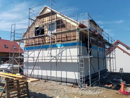 Stavba dřevostavby den 5 - 10.
