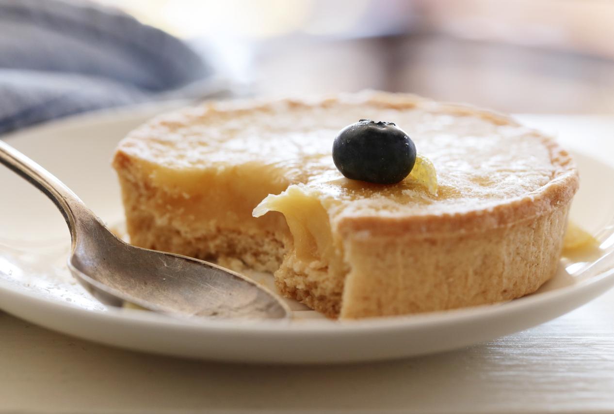 lemon tart photo glasgow