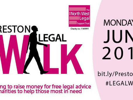 SPH are participating in The Preston Legal Walk on 4th June 2018