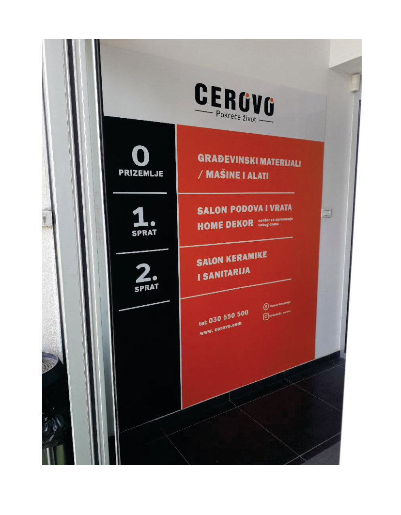 cerovo reklame crna gora lena design