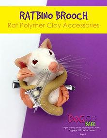 Ratbino Brooch Tutorial
