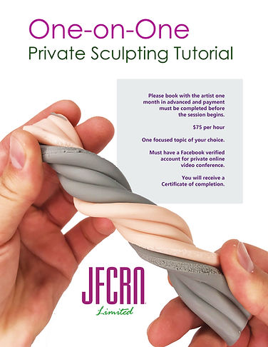 Private Polymer Clay Sculpting Tutorial