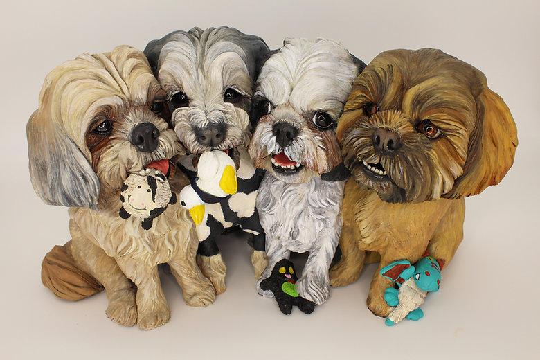 Joan Cabarrus Custom Dog Polymer Sculptu
