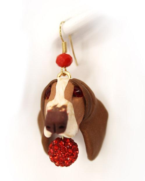 Basset Hound Earrings