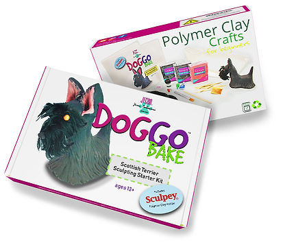 DoggoBake Polymer Clay Sculpting Starter Kits Joan Cabarrus