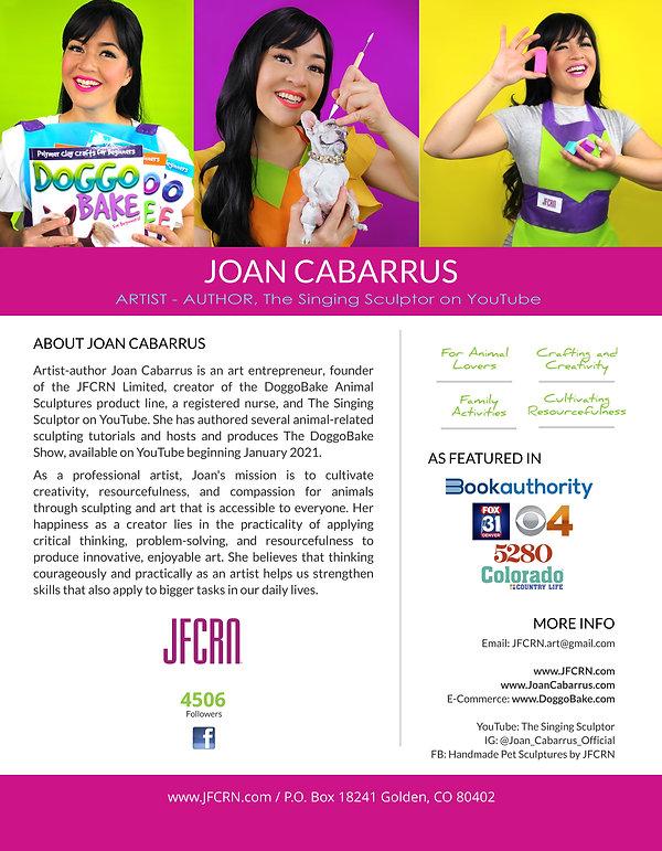 Joan Cabarrus Press Kit