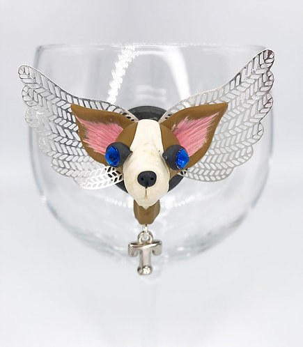 Angel Chihuahua with First Letter Initials