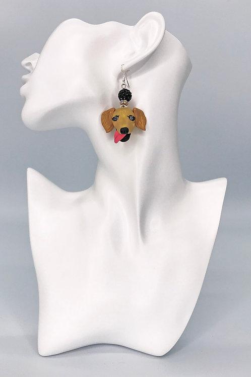 Golden Retriever Earrings