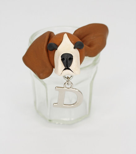 Beagle Recycled Mini Jam Jar