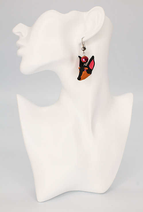 Doberman Earrings