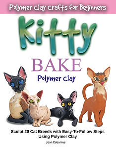 Kitty Bake Polymer Clay by Joan Cabarrus