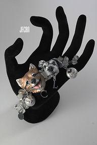 Custom Dog Polymer Clay Sculpture