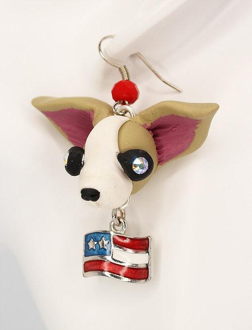 Patriotic Chihuahua
