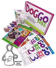 Doggo Bake Five Book Bundle Starter Kit (Free Shipping)