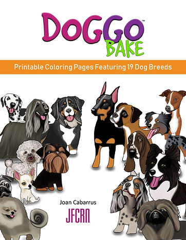DoggoBake Coloring Pages Joan Cabarrus