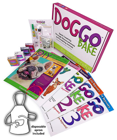 DoggoBake Animal Sculptures Starter Kit