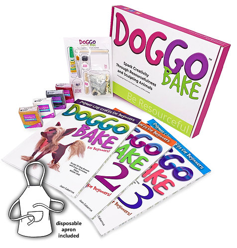 Doggo Bake Starter Kit with Books 1, 2, and 3 (Free Shipping)