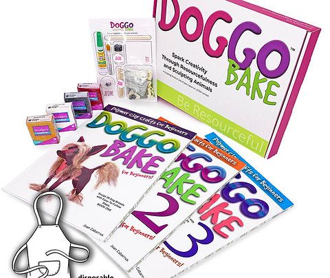 DoggoBake Starter Kit with Books 1, 2, and 3 (Free Shipping)