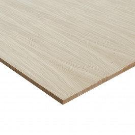 Oak Faced MDF 2 Sides 19.0 x 1220 x 2440 mm