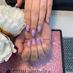 New purple ombre colours .Love it.x_._