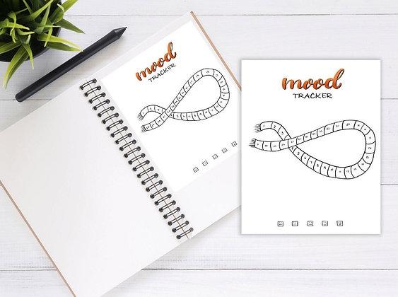 Mood Tracker Stickers