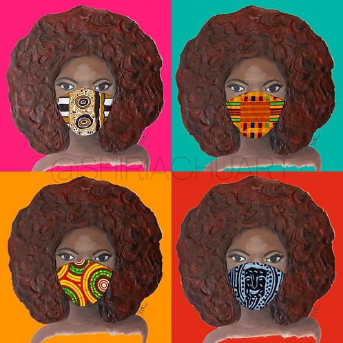 Masked Girl X4