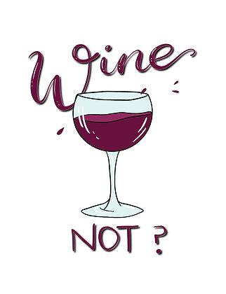 Wine Not Postcard 5x7