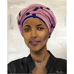 Ilhan Omar - NOT FOR SALE